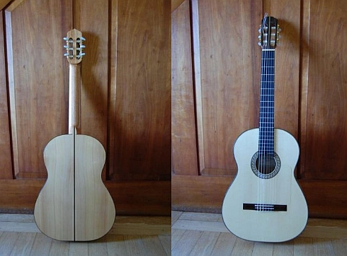 Guitar built by Andy Culpepper