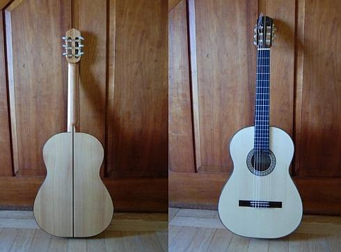 Guitar built by Andy Culpepper